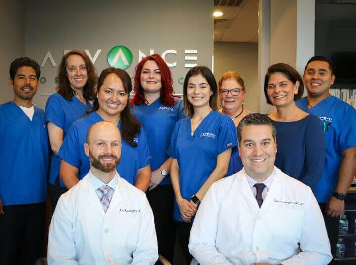 advance orthodontics team photo